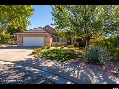St. George Single Family Home For Sale: 1279 W 1200 N