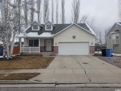 Logan Single Family Home For Sale: 1163 W 400 S
