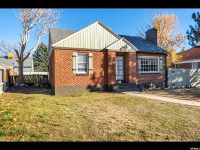 Salt Lake City Single Family Home For Sale: 3387 S Lorraine Cir E