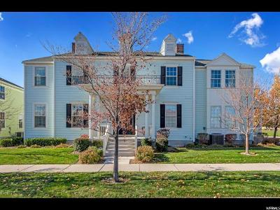 South Jordan Townhouse For Sale: 10844 S Topview Rd