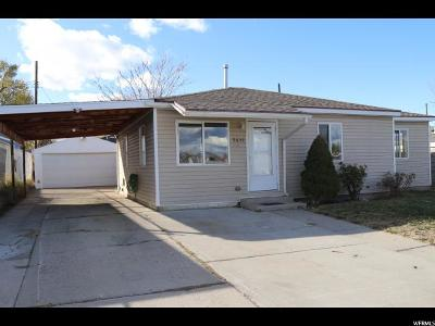 Salt Lake City Single Family Home For Sale: 5636 S 4500 W