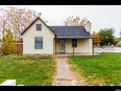 Single Family Home For Sale: 791 N 100 W