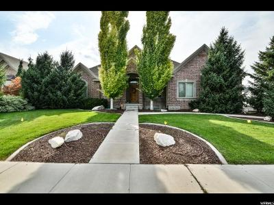 Herriman Single Family Home For Sale: 12548 S Majestic Hill Ct. St W