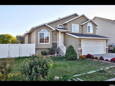 Salt Lake City Single Family Home For Sale: 1731 W Jensen Meadow Ln N