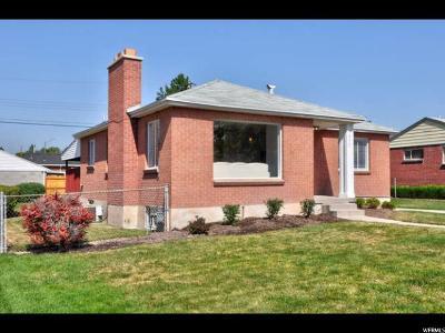 Salt Lake City Single Family Home For Sale: 975 E Montclair Dr