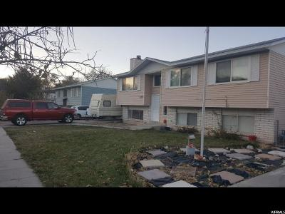 West Valley City Single Family Home For Sale: 6334 W 3380 S