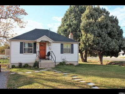 Mapleton Single Family Home For Sale: 1185 N 300 W