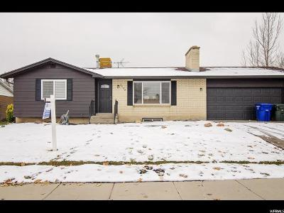 West Valley City Single Family Home For Sale: 3539 W 4650 S