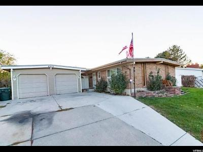 West Valley City Single Family Home For Sale: 4635 W Palmer Dr S