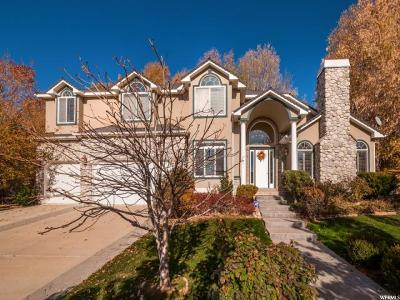 Cottonwood Heights Single Family Home For Sale: 2679 E Grand Vista Way