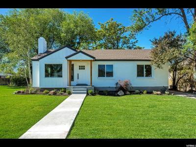 Salt Lake City Single Family Home For Sale: 1718 E Atkin Ave
