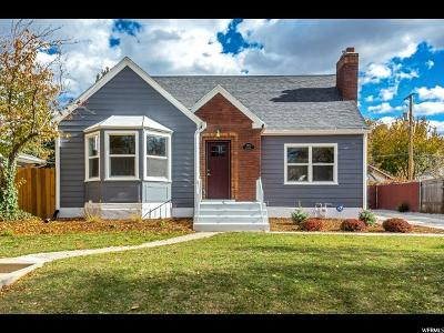 Salt Lake City Single Family Home For Sale: 2483 S Chadwick St