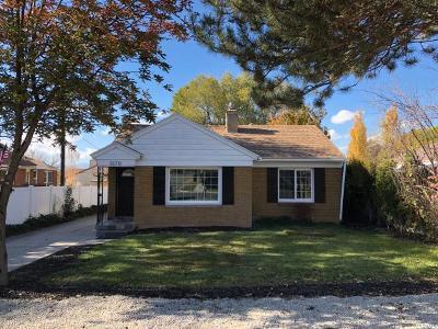 Salt Lake City Single Family Home For Sale: 3170 S Kenwood Dr