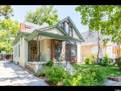 Salt Lake City Single Family Home For Sale: 1131 E Browning Ave S
