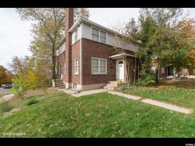 Salt Lake City Multi Family Home For Sale: 1644 S 1300 E
