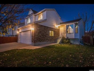 West Jordan Single Family Home For Sale: 7241 S Callie Dr