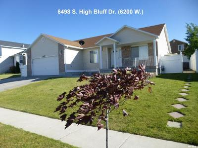 West Valley City Single Family Home For Sale: 6498 S High Bluff Dr W