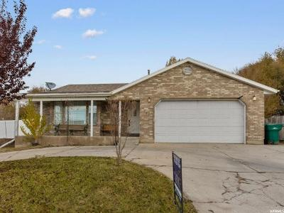 Orem Single Family Home For Sale: 480 W 1800 S