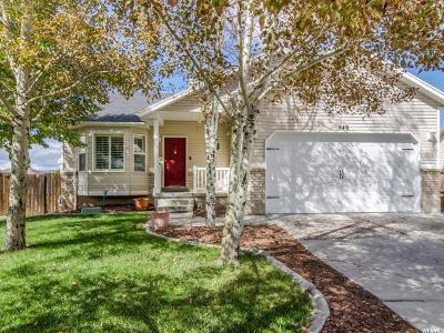 Tooele Single Family Home For Sale: 649 N Janelle Cove Way