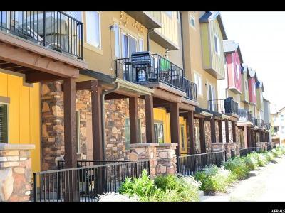 Salt Lake City Townhouse For Sale: 106 W Parramatta Ln S #805