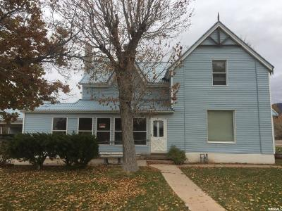 Single Family Home For Sale: 105 E Center