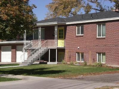 Salt Lake City Multi Family Home For Sale: 559 E Wilson S