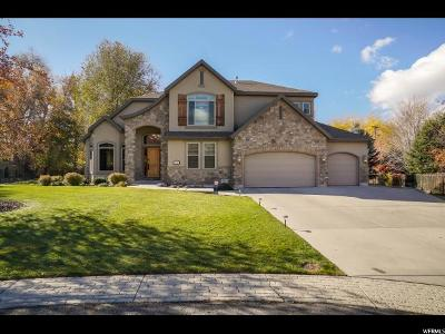 Cottonwood Heights Single Family Home For Sale: 7946 S Ashley Downs Ct E