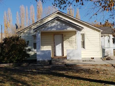 Carbonville UT Single Family Home For Sale: $95,000