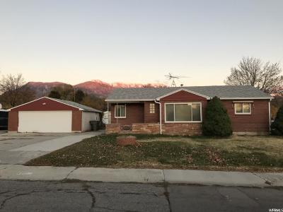 American Fork Single Family Home For Sale: 620 N 300 W