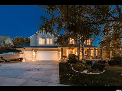 Cottonwood Heights Single Family Home For Sale: 2878 E Elk Horn Ln S