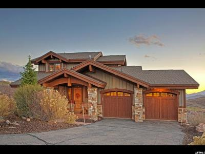 Wasatch County Single Family Home For Sale: 10744 N Hideout Trl #28