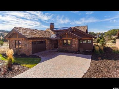 Wasatch County Single Family Home For Sale: 145 N Club Cabins Court (Cc-9) #CC-9