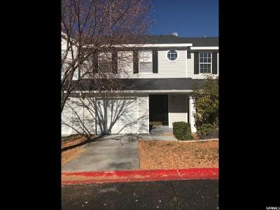 Tooele County Townhouse For Sale: 38 W 1970 N