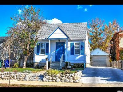 Salt Lake City Single Family Home For Sale: 2795 S McClelland St