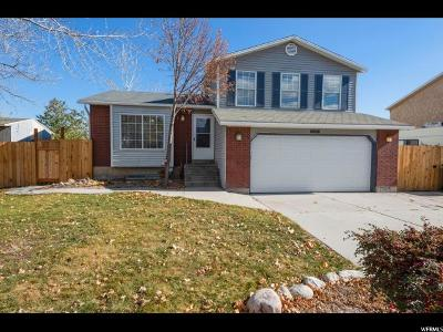 West Jordan Single Family Home For Sale: 6613 S 5095 W