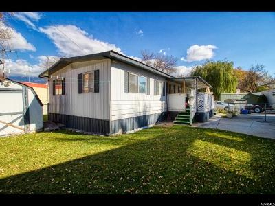 Provo Single Family Home For Sale: 255 N 1600 W #22