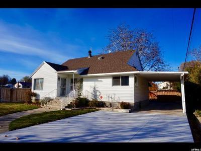 Single Family Home For Sale: 156 S 400 E