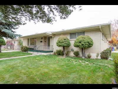 Salt Lake County Single Family Home For Sale: 153 E Carlson Ave S