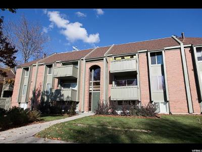 Salt Lake City Condo For Sale: 1160 S Foothill Dr E #211