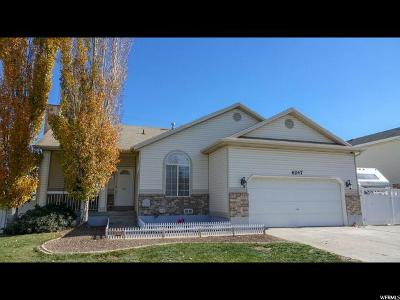 West Valley City Single Family Home For Sale: 6247 S Wakefield Way W