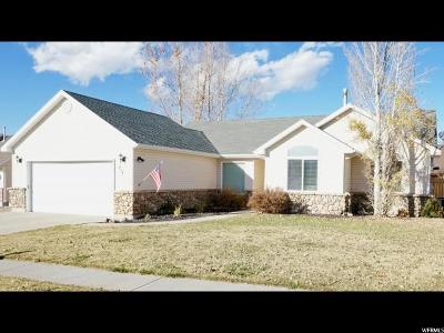 Wasatch County Single Family Home For Sale: 717 E 250 N
