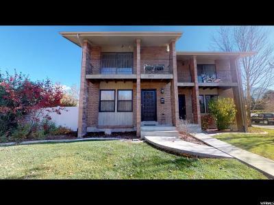 Salt Lake City Townhouse For Sale: 2977 S Connor St E