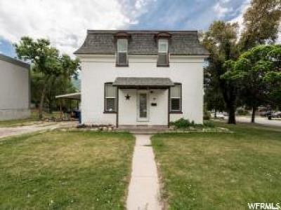 Brigham City Single Family Home For Sale: 37 W 600 S