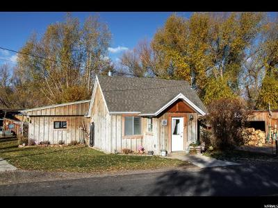 Wasatch County Single Family Home For Sale: 1370 Casperville Rd