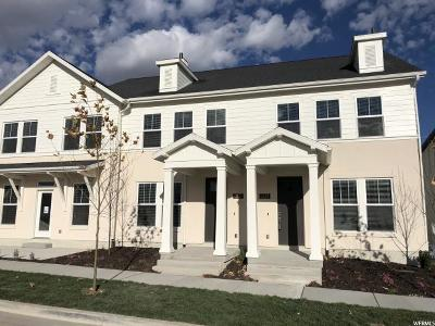 South Jordan Townhouse For Sale: 11339 S Holly Springs Dr #419