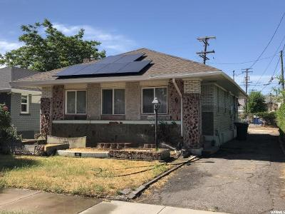 Salt Lake City Single Family Home For Sale: 65 E Bryan Ave