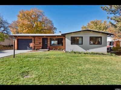Salt Lake City Single Family Home For Sale: 4082 S Diana Way