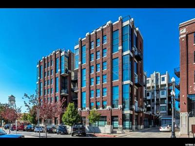 Salt Lake City Condo For Sale: 360 W Broadway S #215