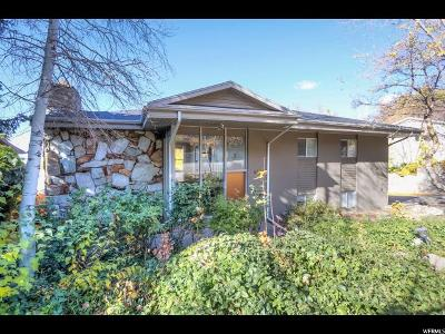 Salt Lake City Single Family Home For Sale: 4532 S Brockbank Dr