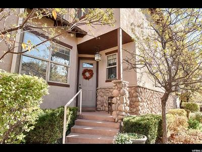 Salt Lake City Condo For Sale: 1674 E Kelmscott Ct S #A